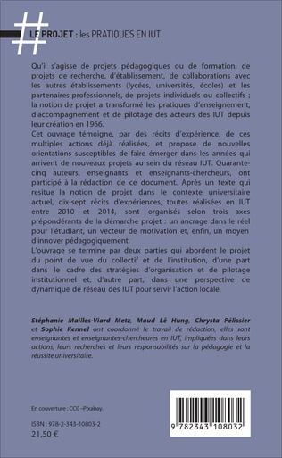 4eme Le projet : les pratiques en IUT
