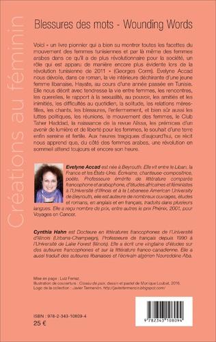 4eme Blessures des mots. Journal de Tunisie