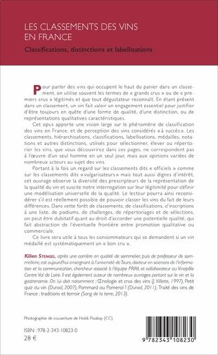 4eme Les classements des vins en France