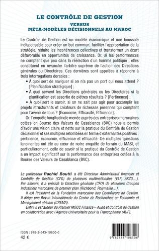 4eme Le contrôle de gestion versus méta-modèles décisionnels au Maroc