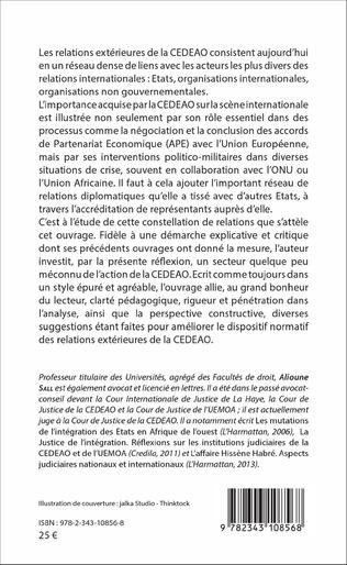 4eme Les relations extérieures de la CEDEAO