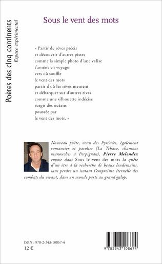 Sous Le Vent Des Mots Pierre Melendez Livre Ebook Epub