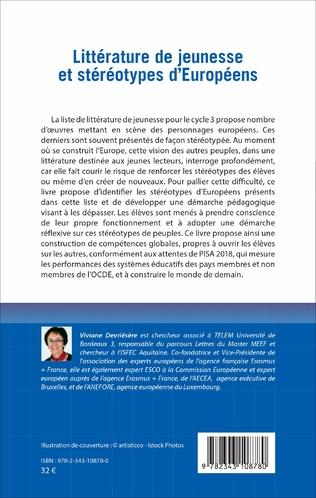 4eme Littérature de jeunesse et stéréotypes d'Européens