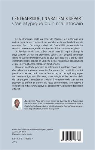 4eme Centrafrique, un vrai-faux départ