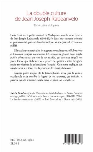 4eme La double culture de Jean-Joseph Rabearivelo