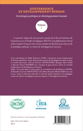 4eme Gouvernance et développement humain (Volume 1)