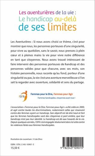 4eme Les aventurières de la vie :