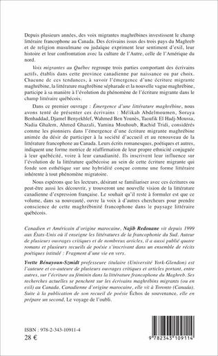 4eme Voix migrantes au Québec