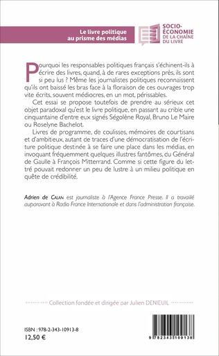 4eme Le livre politique au prisme des médias