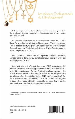 4eme Les acteurs confessionnels du développement