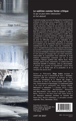 4eme Le sublime comme forme critique