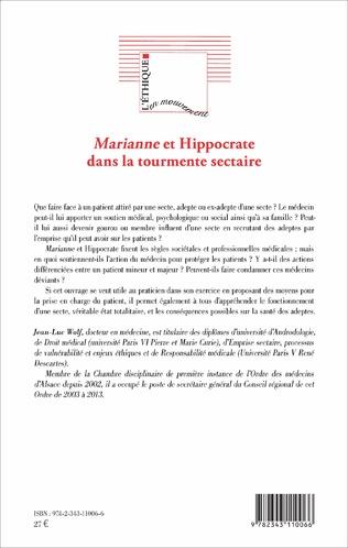 4eme Marianne et Hippocrate dans la tourmente sectaire