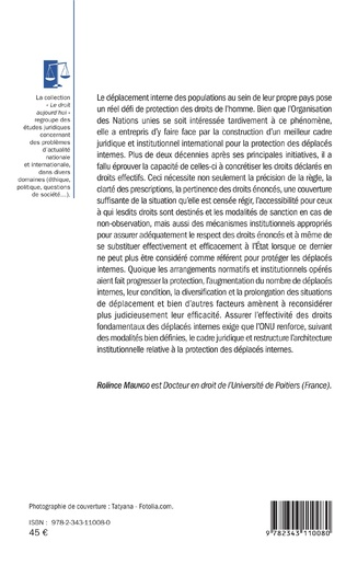4eme L'Organisation des Nations unies et l'effectivité des droits fondamentaux des déplacés internes