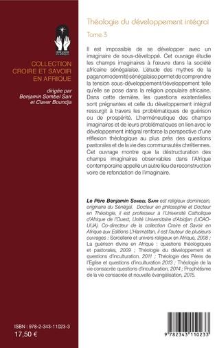 4eme Théologie du développement intégral Tome 3