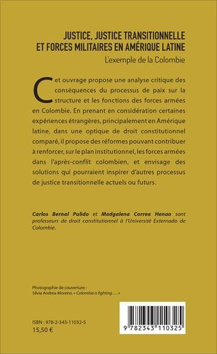 4eme Justice, justice transitionnelle et forces militaires en Amérique latine