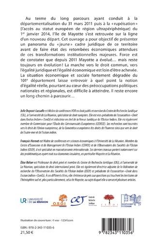 4eme La départementalisation de Mayotte