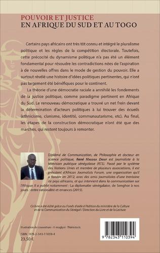 4eme Pouvoir et justice en Afrique du Sud et au Togo