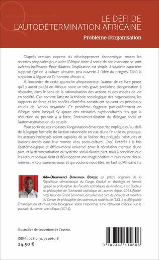 4eme Le défi de l'autodétermination africaine