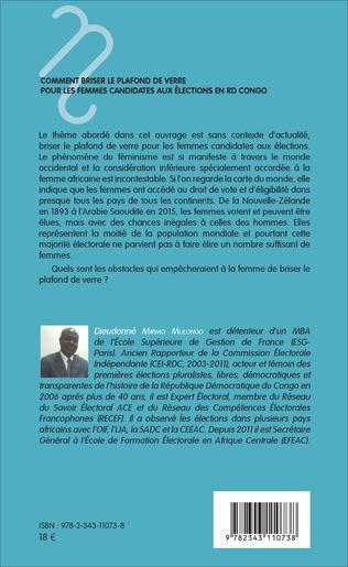 4eme Comment briser le plafond de verre pour les femmes candidates aux élections en RD Congo