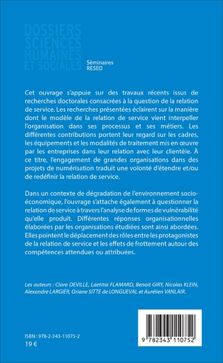 4eme L'organisation face aux transformations de la relation de service