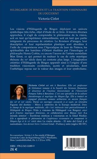4eme Hildegarde de Bingen et la tradition visionnaire de l'Occident
