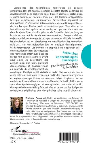 4eme Recherches en technologies numériques