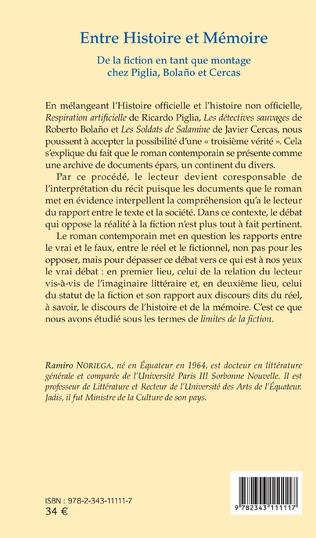 4eme Entre Histoire et Mémoire