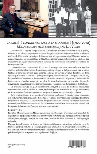 4eme La Société congolaise face à la modernité 1700-2010 N°89