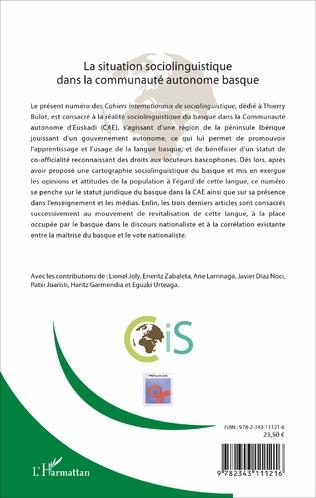 4eme La situation sociolinguistique dans la communauté autonome basque