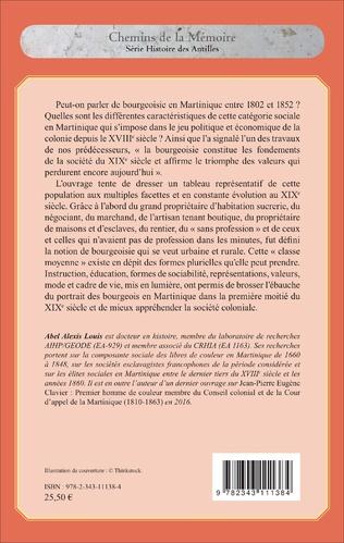 4eme Les bourgeoisies en Martinique (1802-1852)