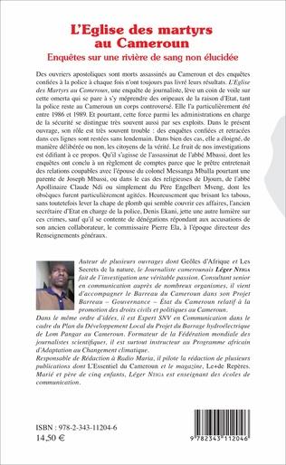 4eme L'église des martyrs au Cameroun