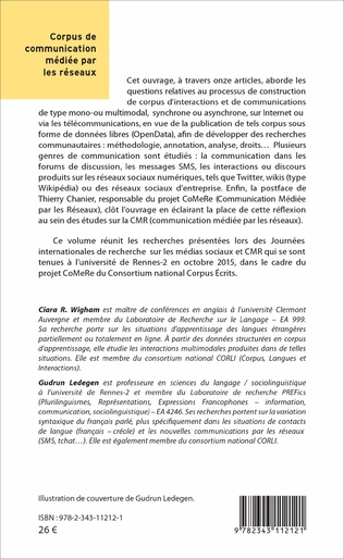 4eme Corpus de communication médiée par les réseaux