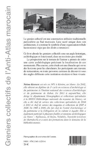 4eme Greniers collectifs de l'Anti-Atlas marocain