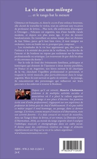 4eme La vie est une <i>milonga</i>