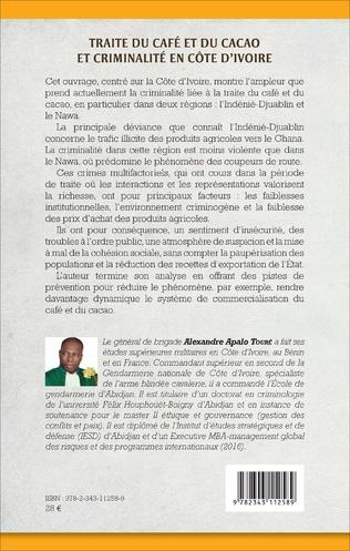 4eme Traite du café et du cacao et criminalité en Côte d'Ivoire