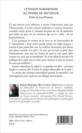 4eme L'Ethique humanitaire au prisme de Nietzsche