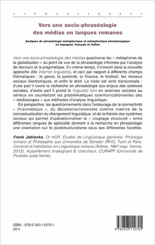4eme Vers une socio-phraséologie des médias en langues romanes