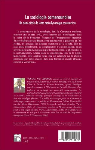 4eme La sociologie camerounaise