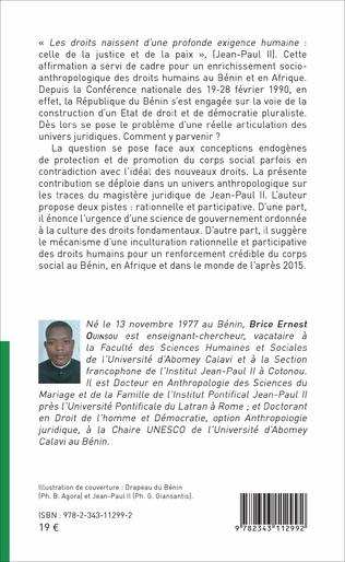4eme Jean-Paul II et les droits de l'homme au Bénin