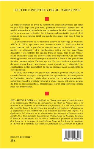 4eme Droit du contentieux fiscal camerounais