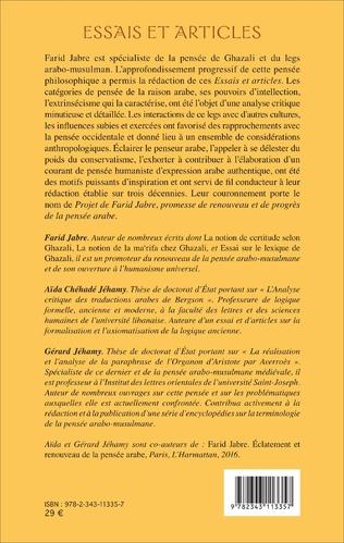 4eme Essais et articles