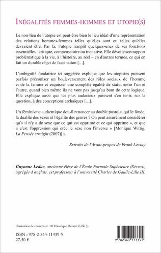 4eme Inégalités femmes-hommes et utopie(s)