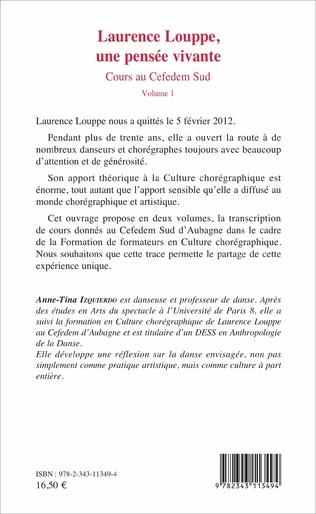 4eme Laurence Louppe, une pensée vivante