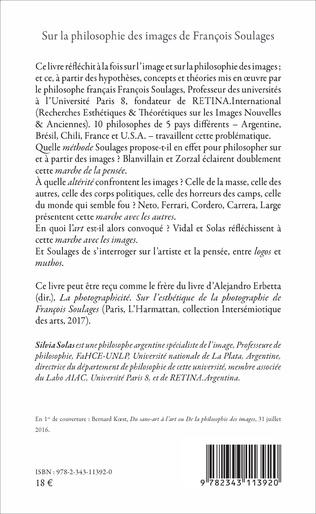 4eme Sur la philosophie des images de François Soulages