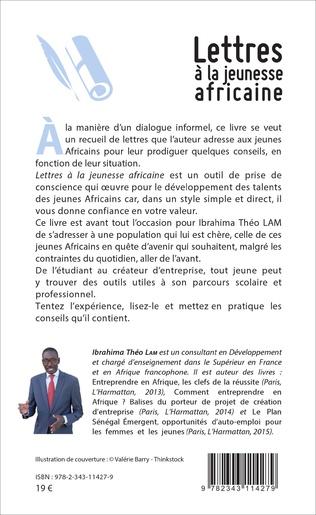 4eme Lettres à la jeunesse africaine