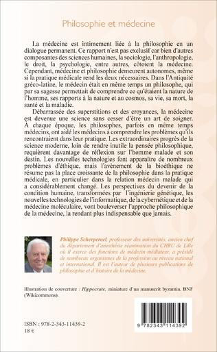 4eme Philosophie et médecine