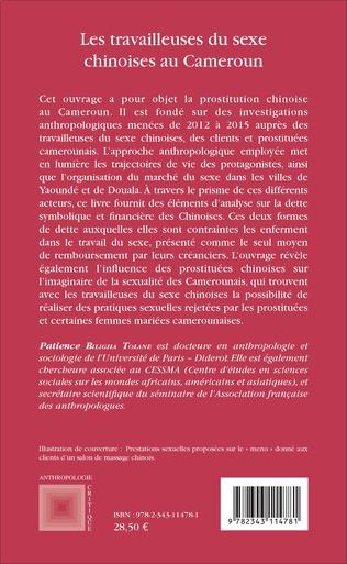 4eme Les travailleuses du sexe chinoises au Cameroun