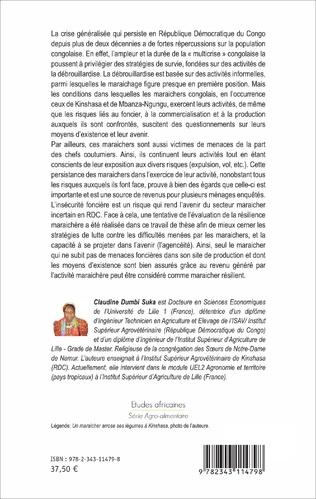 4eme Quel avenir pour les ménages maraichers en République Démocratique du Congo ?