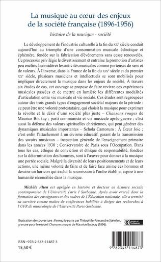 4eme La musique au cœur des enjeux de la société française (1896-1956)