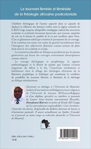 4eme Le tournant féminin et féministe de la théologie africaine postcoloniale